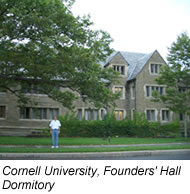 Founders' Hall Dormitory.